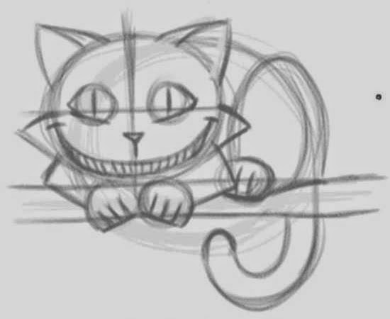 How To Draw The Cheshire Cat Easily Icreativeideas Com