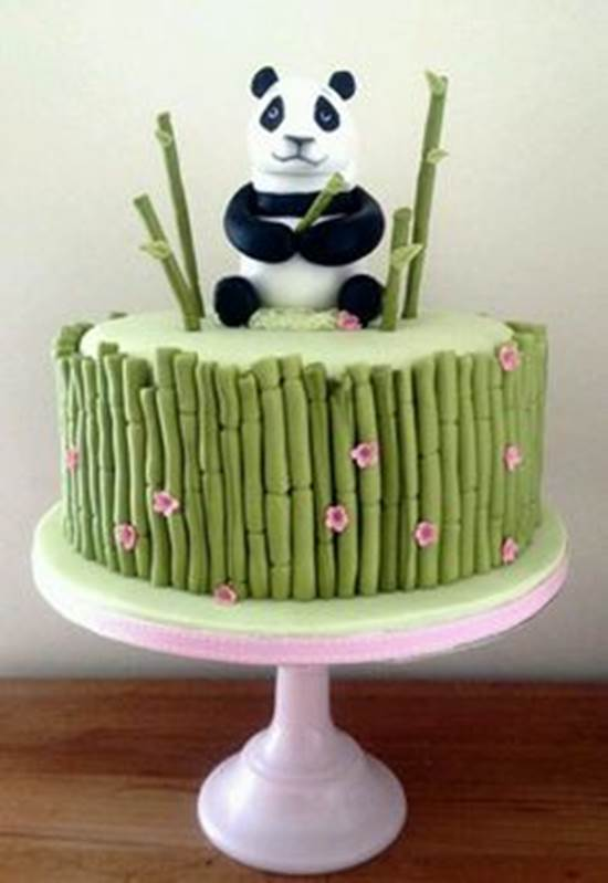 16 Creative Bamboo And Panda Cake Diy Ideas