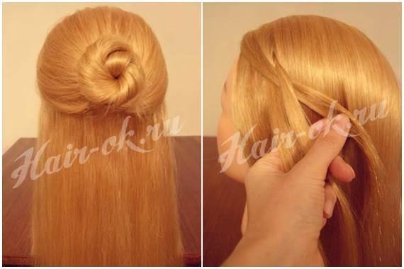 Swell How To Diy Pretty Rose Braids Hairstyle Short Hairstyles Gunalazisus