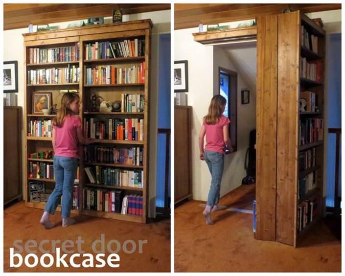 How to Build a Creative DIY Sliding Door Bookshelf