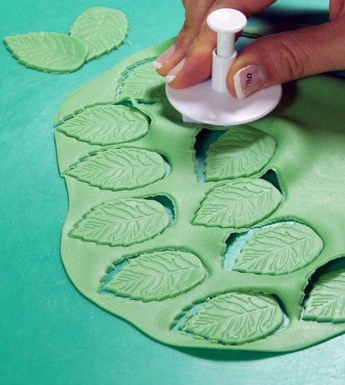 Украшение торта с помощью мастики