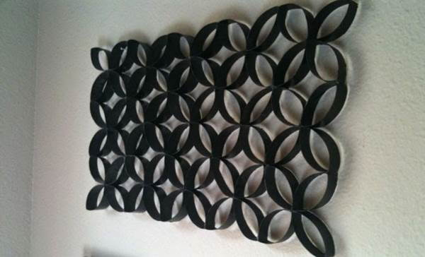 ... How to DIY Toilet Paper Roll Flower Wall Art 5