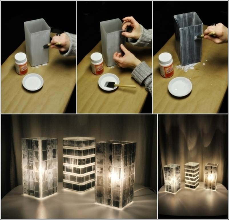 How to make unique lampshade from soda can pop tabs - Creative lamp shades ...