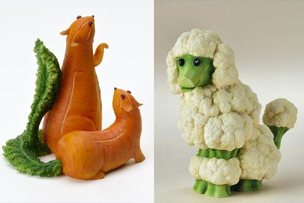 Creative Animals Made Of Fruits And Vegetables 15 Jpg
