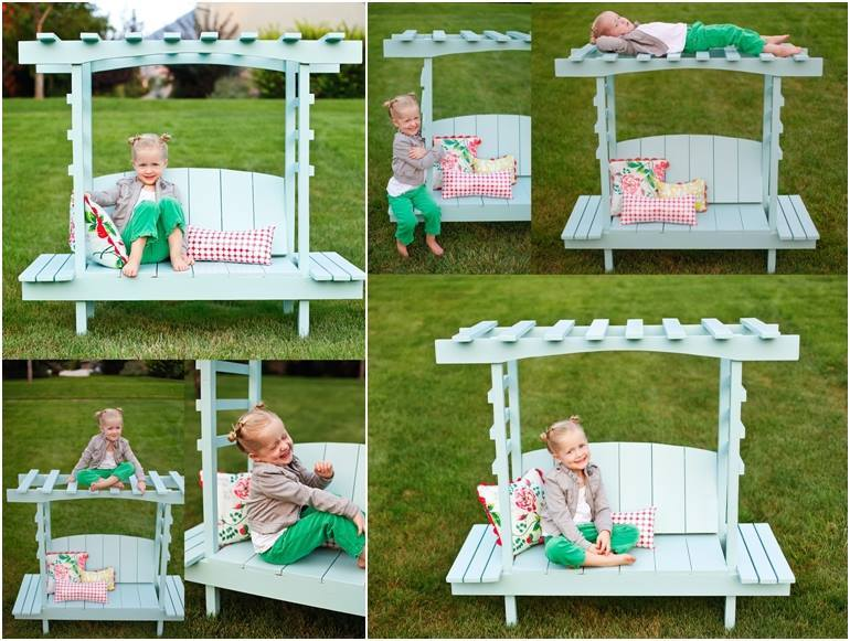 Creative Diy Outdoor Arbor Bench For Kids Garden Ideas