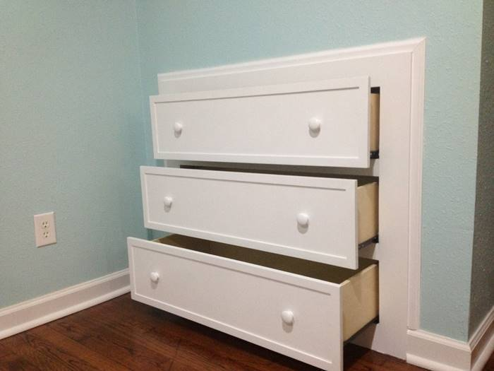 Creative Ideas Diy How To Install Knee Wall Storage