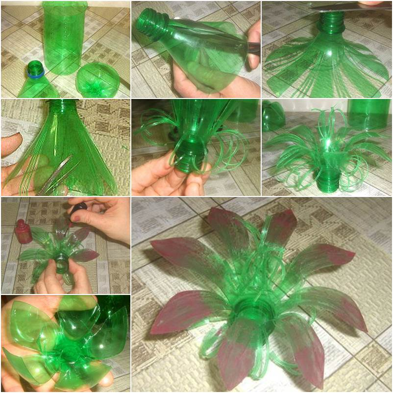 Creative Diy Plastic Bottle Flower Icreativeideas Com