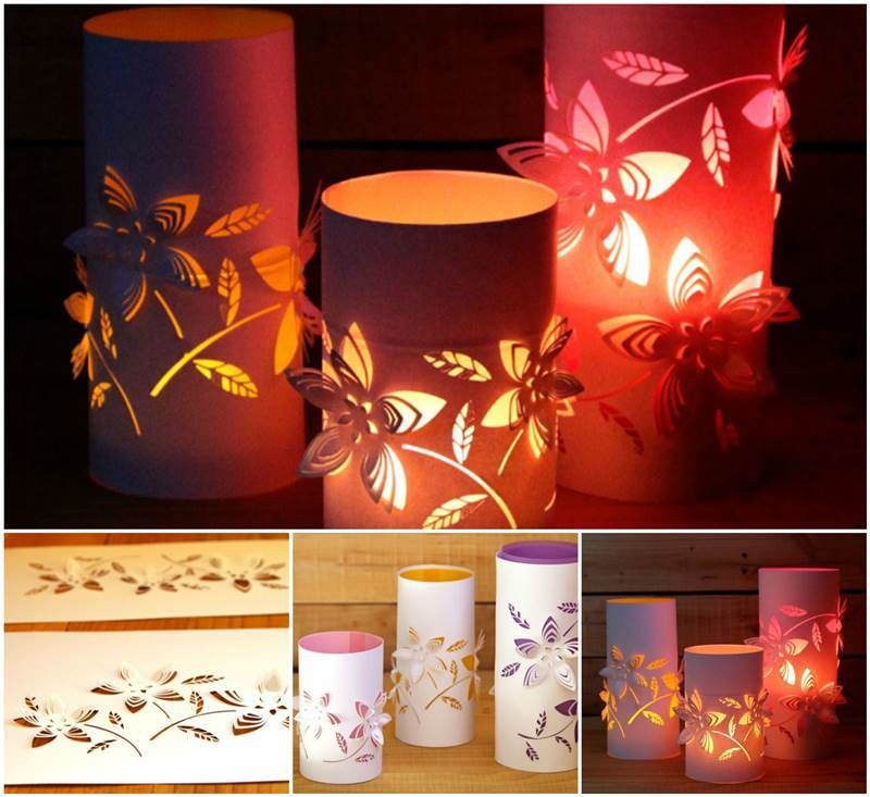Creative ideas diy beautiful dimensional flower paper for Chinese lantern ideas