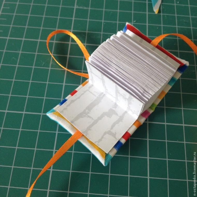 Поделки блокнот из бумаги своими руками