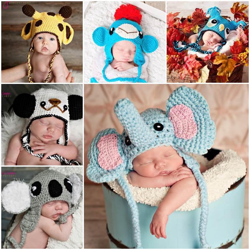 10+ Adorable Crochet Animal Hat Patterns by Jenny and Teddy