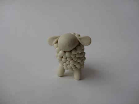 Creative Ideas - DIY Adorable Polymer Clay Sheep 12