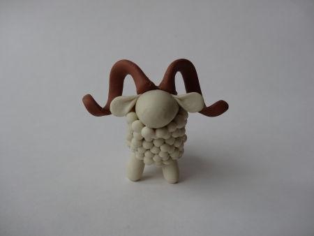 Creative Ideas - DIY Adorable Polymer Clay Sheep 19