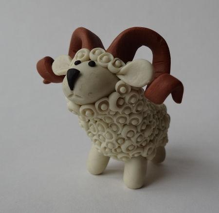Creative Ideas - DIY Adorable Polymer Clay Sheep 24