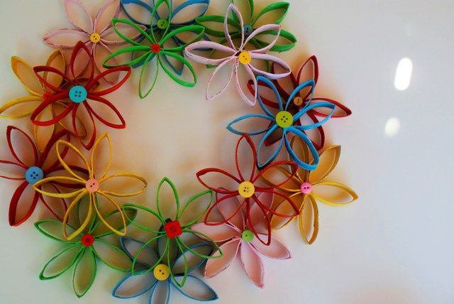 Creative Ideas Diy Beautiful Paper Roll Christmas Wreath