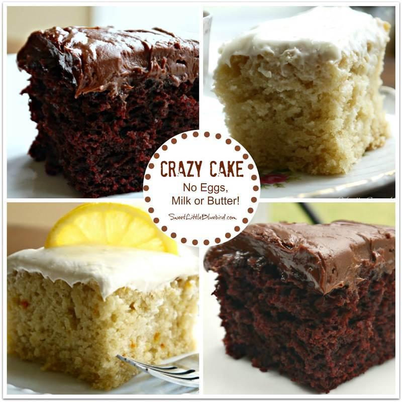 Wacky Cake Recipe Gluten Free