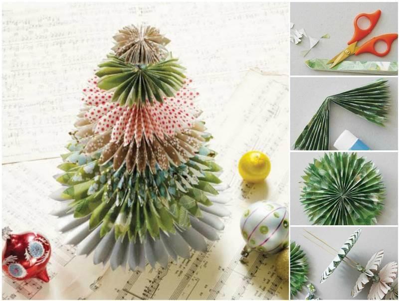 Creative Ideas - DIY Festive Paper Christmas Tree