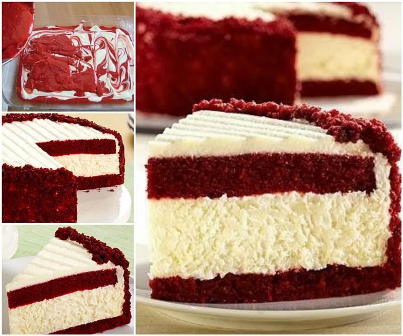 Flourless Red Velvet Cake Recipe