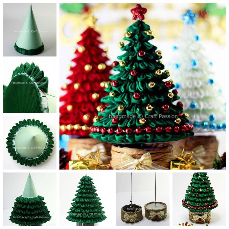 Creative ideas diy mini christmas tree with chocolates Creative christmas decorations