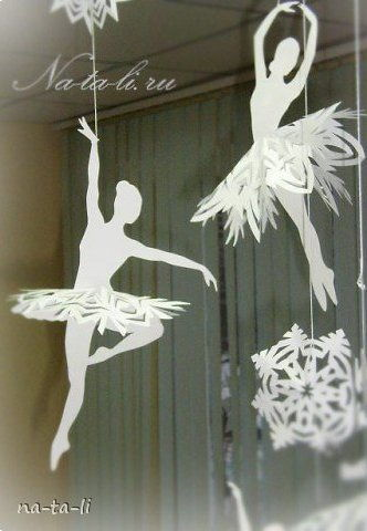 Creative Ideas Diy Beautiful Snowflake Ballerinas From