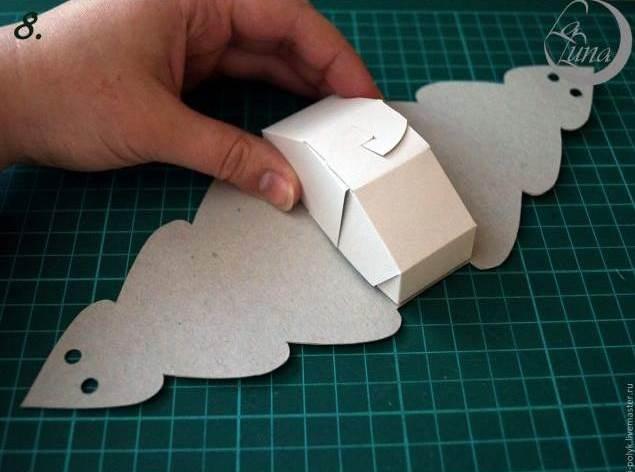 Creative Ideas - DIY Cute Christmas Tree Gift Box 9