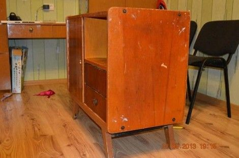 Creative Ideas - DIY Repurpose an Old Nightstand into a Play Kitchen 1