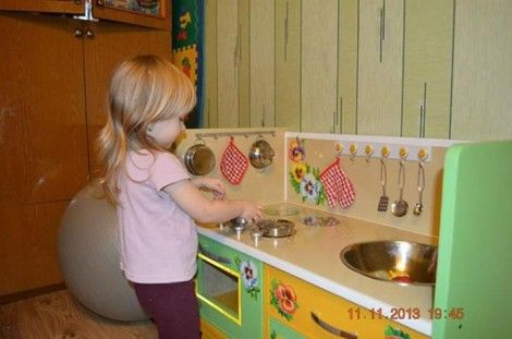 Creative Ideas - DIY Repurpose an Old Nightstand into a Play Kitchen 17_1