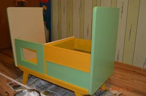 Creative Ideas - DIY Repurpose an Old Nightstand into a Play Kitchen 7
