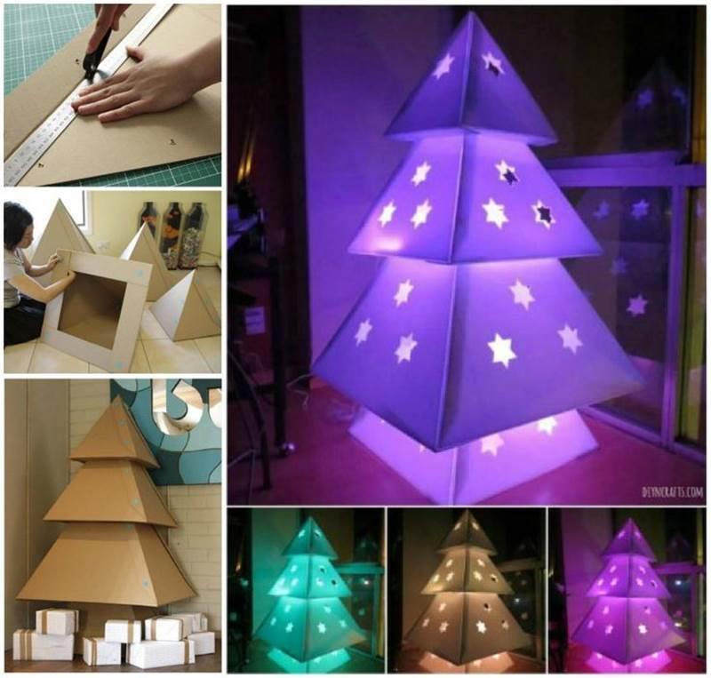 Creative Christmas Trees Ideas.Creative Ideas Diy Pretty Paper Doily Christmas Trees