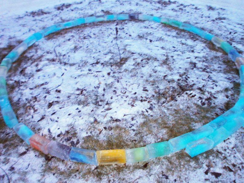 Creative Ideas - How to Build a Rainbow Igloo Using Milk Cartons 2