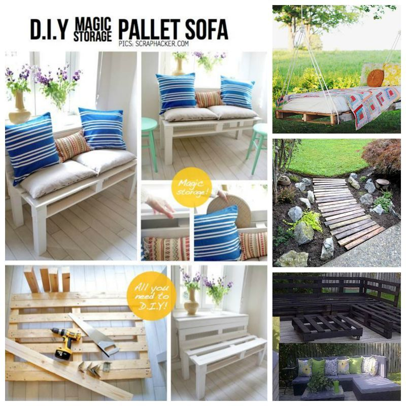 10 Cool DIY Pallet Furniture Projects