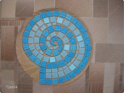 DIY Mosaic Tile Garden Stepping Stones 3