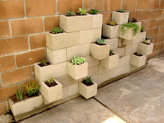 20 creative uses of concrete blocks in your home and garden concrete