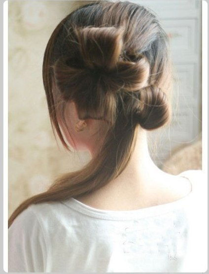 Creative Ideas - DIY Chic Flower Petal Updo Hairstyle 5