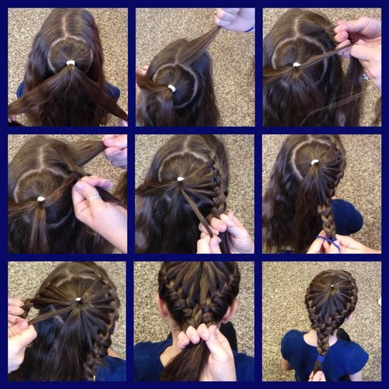 Brilliant Creative Ideas Diy Heart Shaped Crown Braided Hairstyle Hairstyles For Women Draintrainus