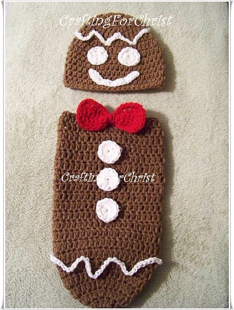 35+ Adorable Crochet and Knitted Baby Cocoon Patterns iCreativeIdeas.com - ...