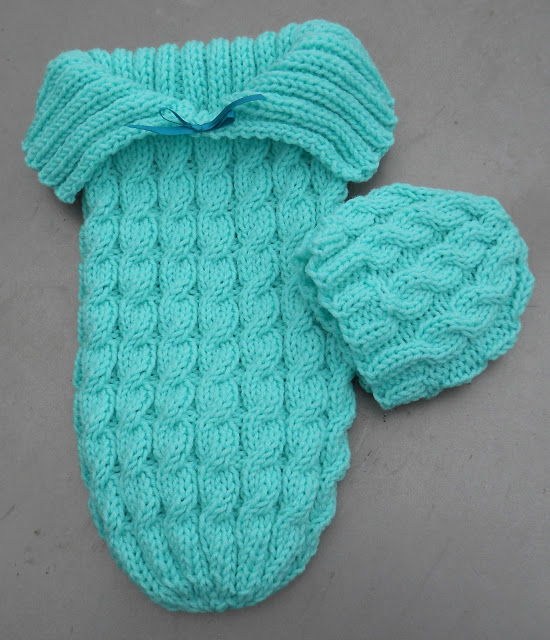 35 Adorable Crochet And Knitted Baby Cocoon Patterns