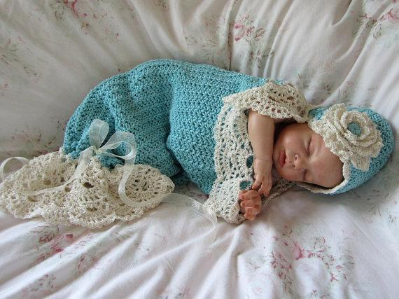 Baby Flower Cocoon Crochet Pattern Free : 35+ Adorable Crochet and Knitted Baby Cocoon Patterns