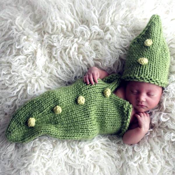 Free Knitting Pattern Baby Cocoon Pod : 35+ Adorable Crochet and Knitted Baby Cocoon Patterns iCreativeIdeas.com - ...