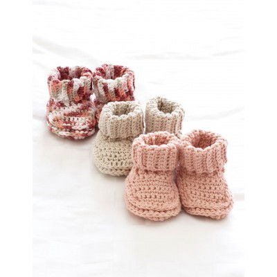 40+ Adorable and FREE Crochet Baby Booties Patterns --> Crochet Baby Booties