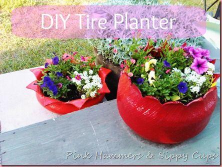 DIY 40 ideas para la jardinería con artículos reciclados | DesignRulz