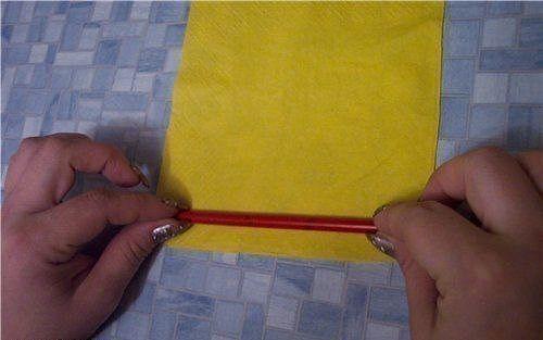 Creative Ideas - DIY Easy Napkin Paper Rose 1