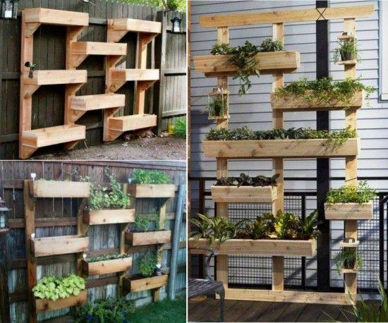20+ Creative DIY Vertical Gardens For Your Home ...