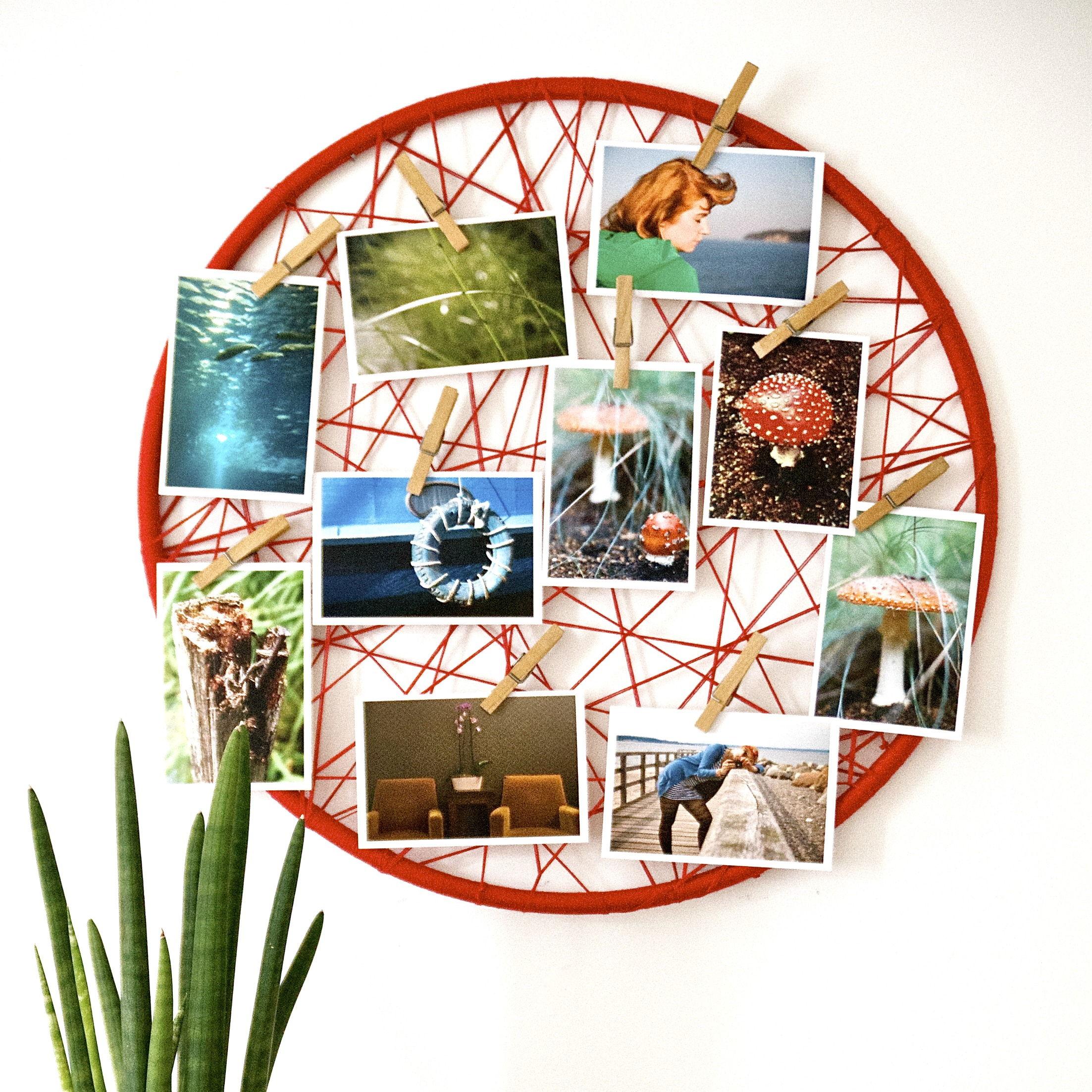 35+ Creative DIY Ways to Display Your Family Photos --> Photo Display DIY