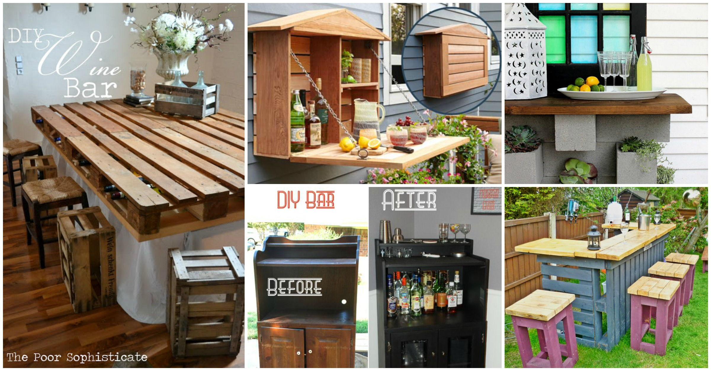 30 creative diy wine bars for your home and garden Diy home bar design ideas