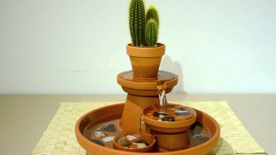 Creative Ideas Diy Terracotta Pot Fountain