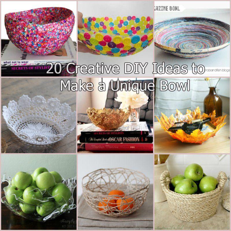 Creative Ideas - DIY Rope Bowl | iCreativeIdeas.com