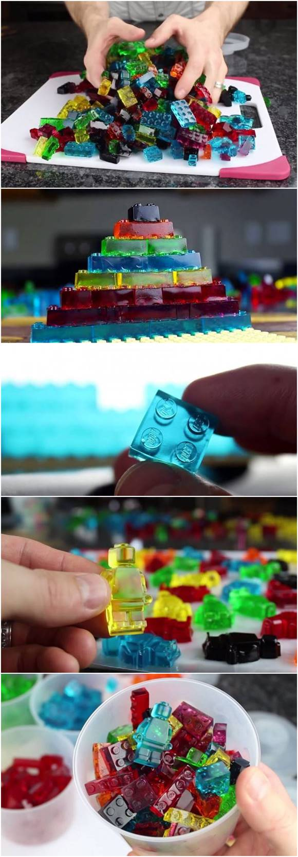 Creative Ideas - DIY Amazing Lego Gummy Candy