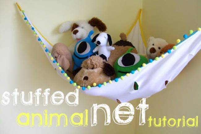 15 Functional and Fun DIY Ideas How to Organize and Store Stuffed Animal Toys