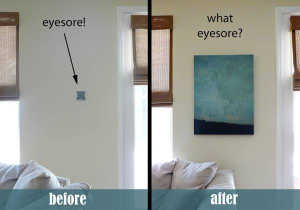 Creative Ways To Hide The Eyesores Around Your Home