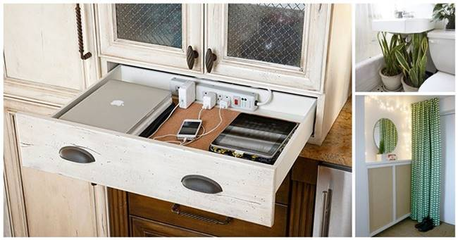 Creative Ideas Diy Wood Tilt Out Trash Can Cabinet